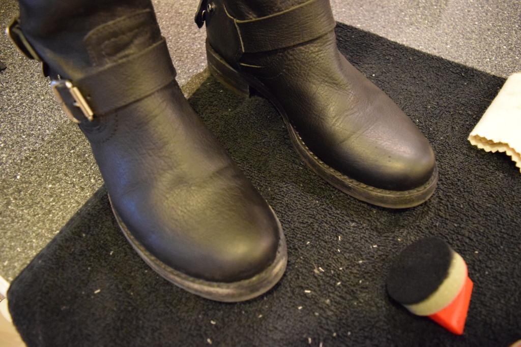 Clean Black Polish Off Brown Shoes